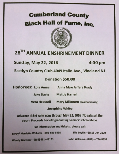 Cumberland County Black Hall of Fame