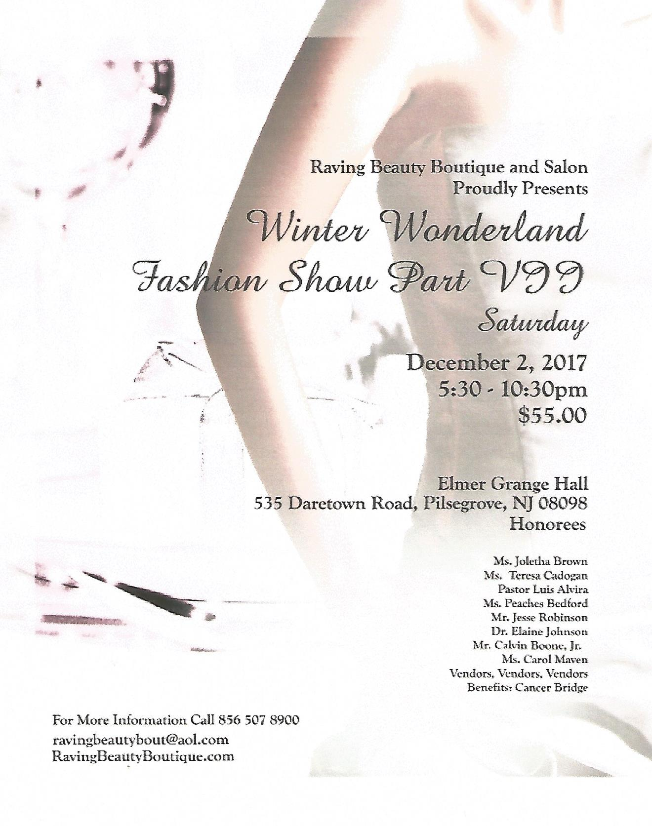 Winter Wonderland Fashion Show